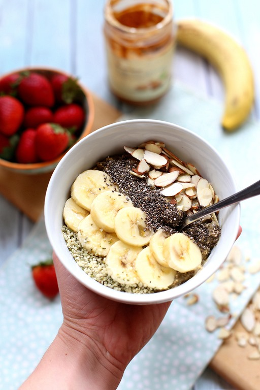 High Protein Vegan Overnight Oats