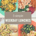 Weekday Lunches