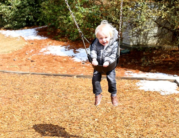 Chase Swing 19 months