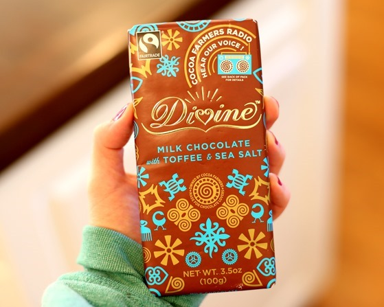 Divine Chocolate Toffee