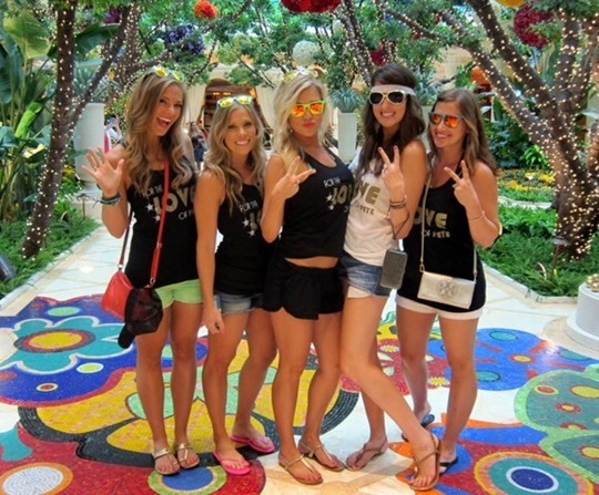 Las Vegas Bachelorette Party Ideas
