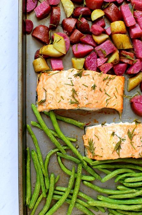 Sheet Pan Paleo Salmon Recipe