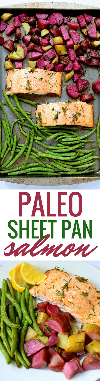 Sheet Pan Paleo Salmon