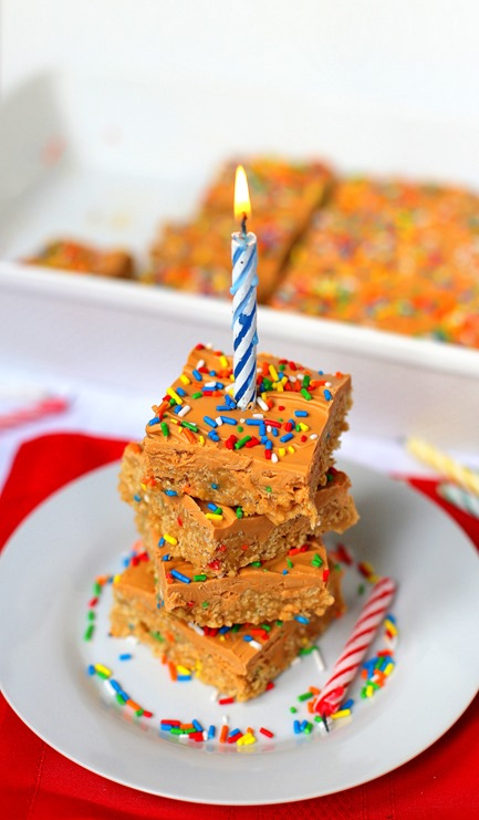 Birthday Butterscotch Bars