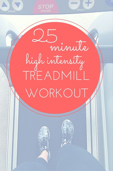 HIIT Treadmill Workout