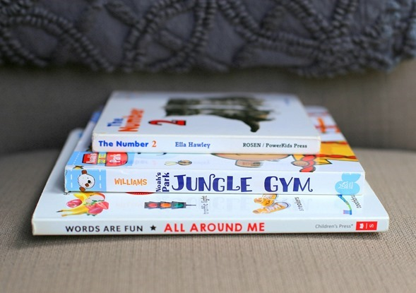 Library Board Books for Toddlers