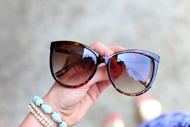 Steve Madden Tortoise Shell Sunglasses