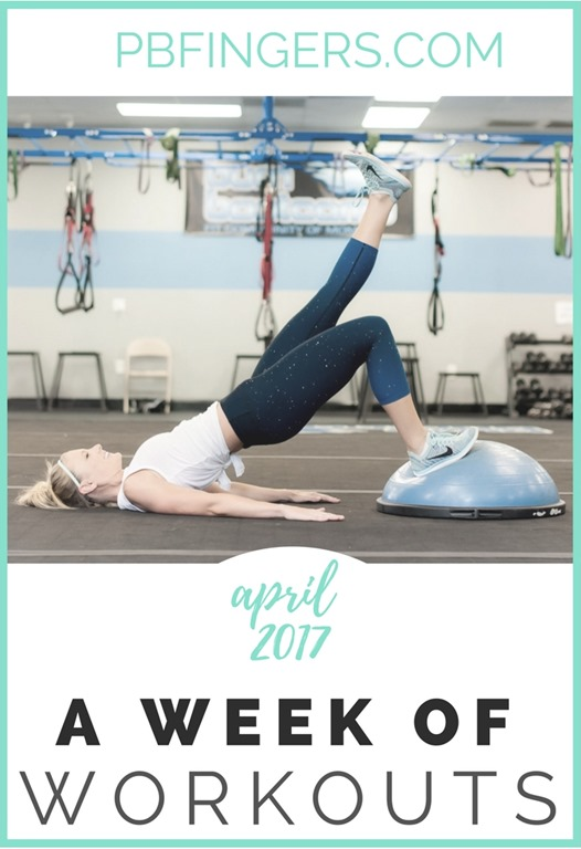 Weekly Workout Plan A Week Of Workouts Total Body Cardio Legs
