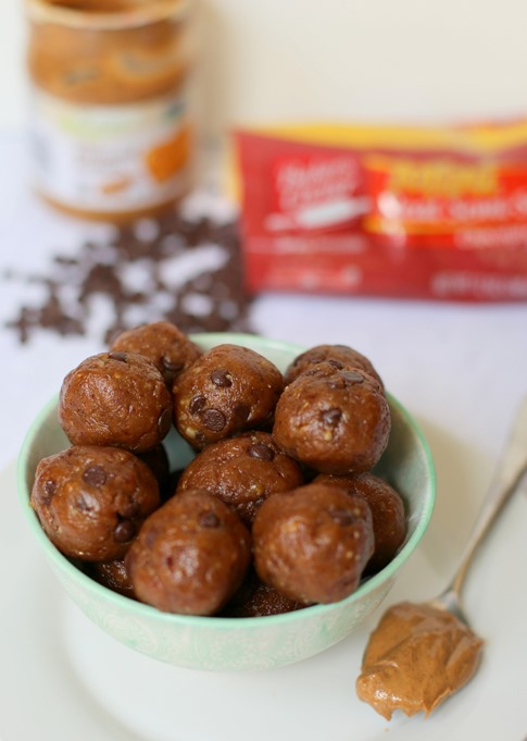 Chocolate Chip Almond Butter Energy Bites