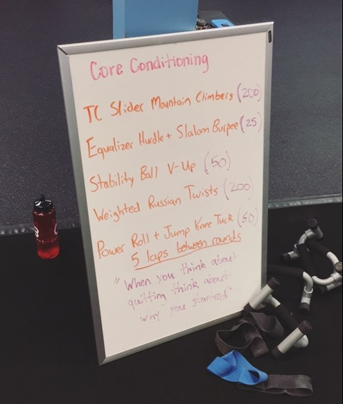 Core Conditioning Workout Burn Boot Camp