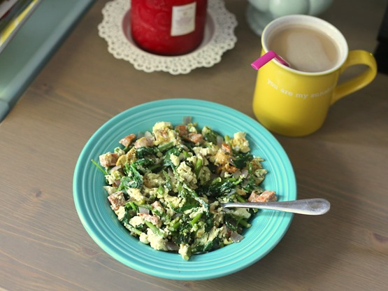 Egg Scramble with Veggies