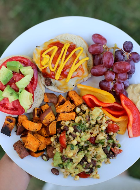 Healthy Cookout Food
