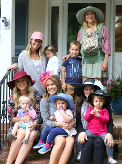 Kentucky Derby Party with Toddlers