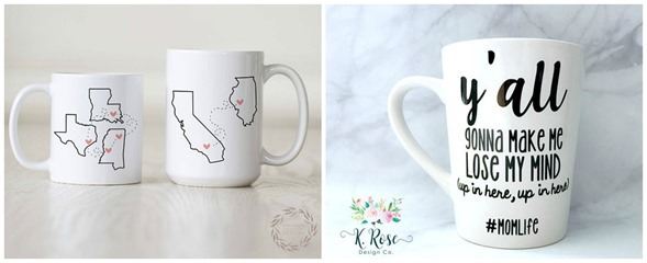 Mother's Day Mugs - Y'all Gonna Make Me Lose My Mind