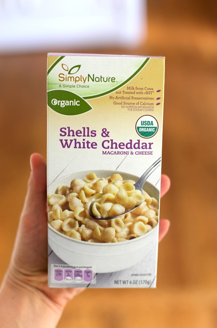 Simply Nature White Cheddar Mac and Cheese ALDI