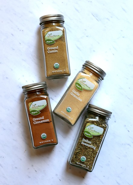 SimplyNature Organic Spices