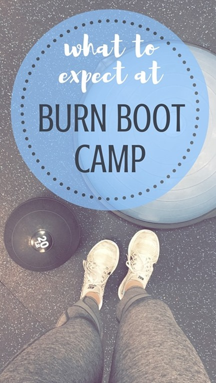 What to Expect at Burn Boot Camp