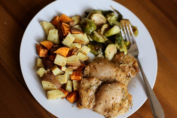 Chicken Thighs Easy Baked
