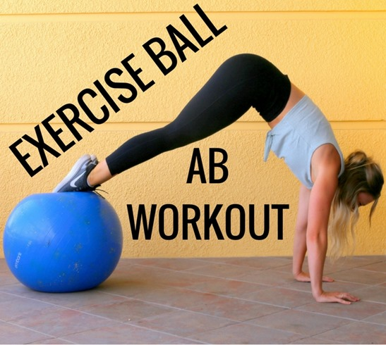Stability Ball Core Exercises: Exercise Ball Ab Workout