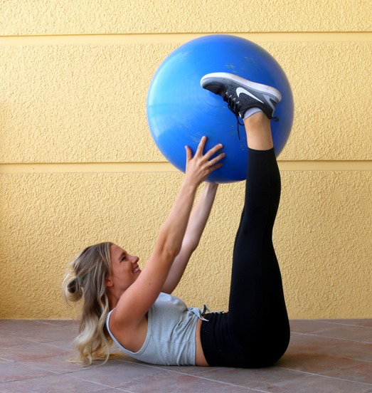 Exercise Ball Core Workout