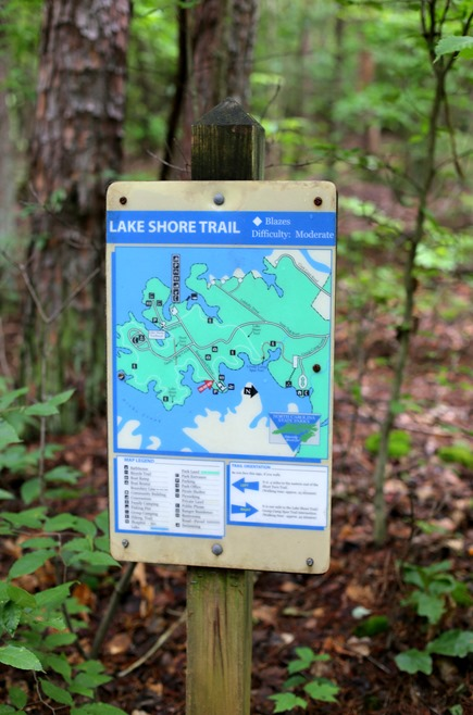 Lake Norman State Park Hiking