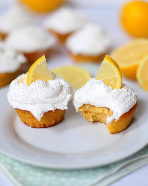 Paleo Lemon Cupcakes