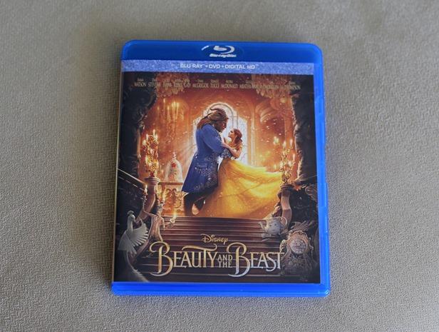 beauty and the beast emma watson bluray