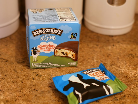 ben and jerry's pint slices