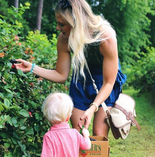 Blackberry Picking Charlotte