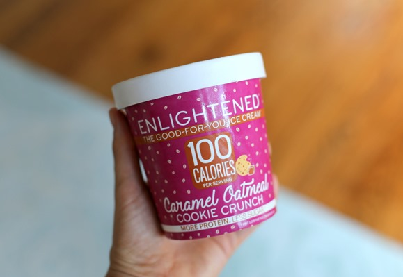 Enlightened Oatmeal Cookie Ice Cream