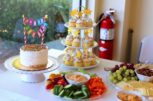 Gymboree Birthday Party Food