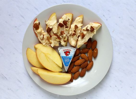 Laughing Cow Apples with Cheese