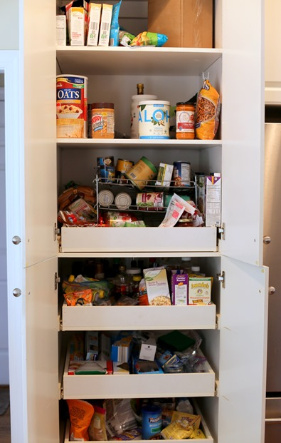 Pantry Before Cleaning