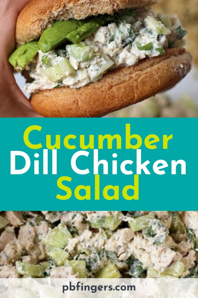 Cucumber Dill Rotisserie Chicken Salad
