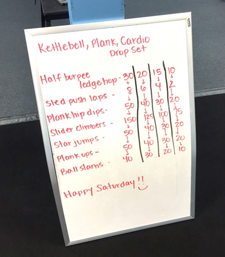 Drop Set Total Body Workout Burn Boot Camp
