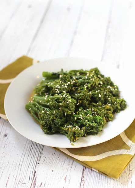 Easy Ginger Sesame Broccolini Recipe
