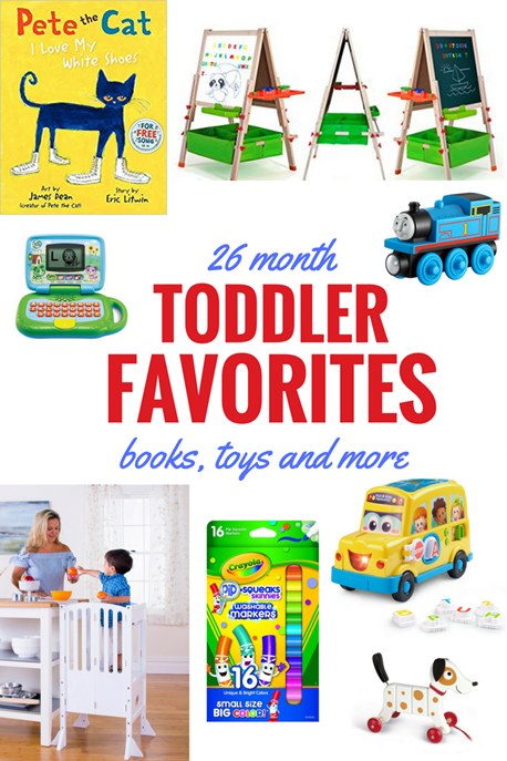 2 year old boy favorites