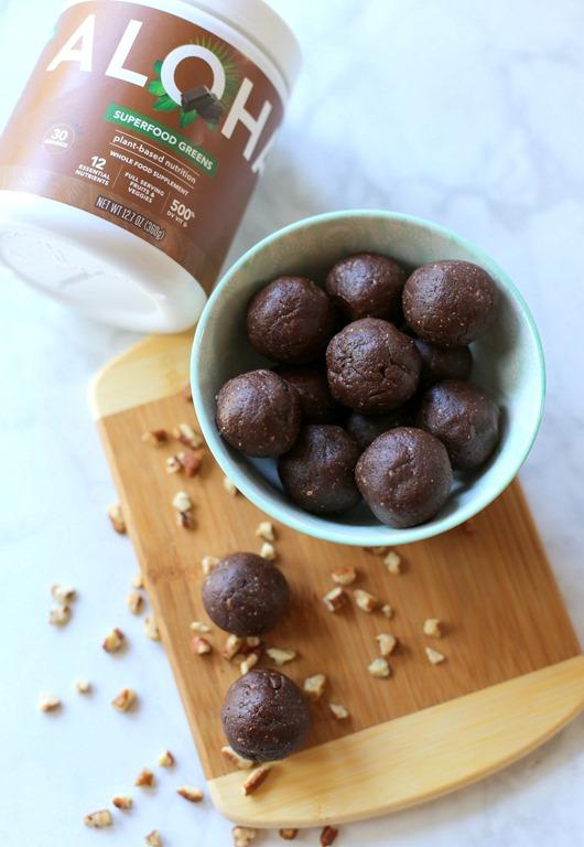 Chocolate Superfood Energy Bites No Bake Gluten Free Vegan