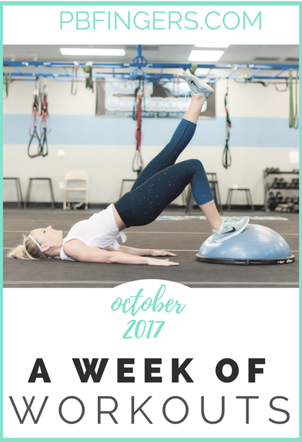 October Workouts