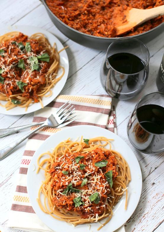 Vegetable Bolognese Sauce