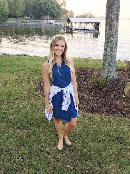 denim dress sleeveless