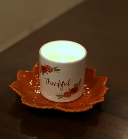 fall scented candles