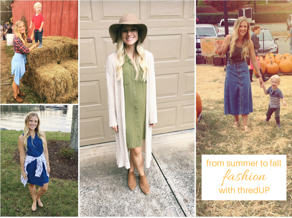 4e627f359446 From Summer to Fall Fashion + Giveaway