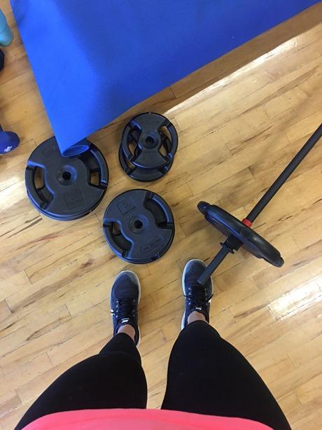 strength training together