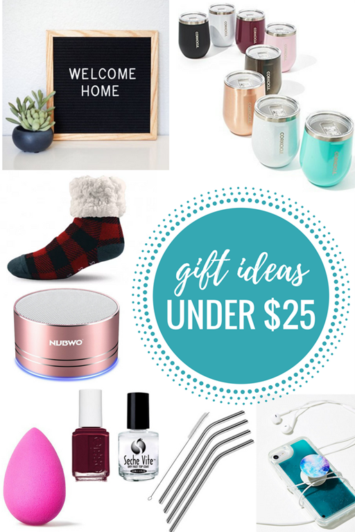 Gift Ideas Under $25: Gift Guide