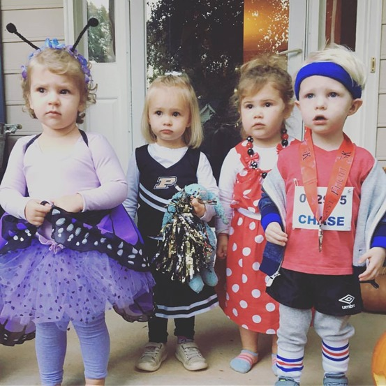 Lily Lilly Claire Chase Halloween
