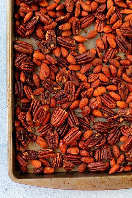 Maple Rosemary Roasted Nuts Recipe
