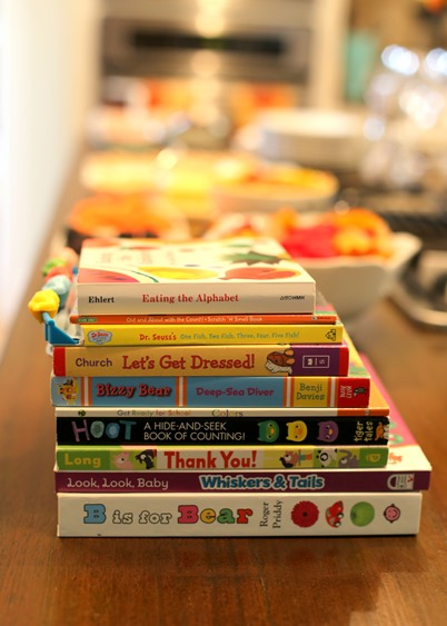 Toddler Book Exchange Party