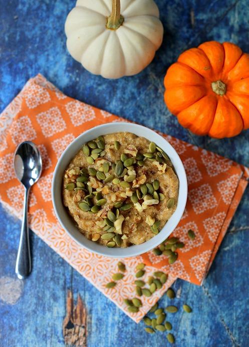 Whole30 Pumpkin Paleo Oatmeal
