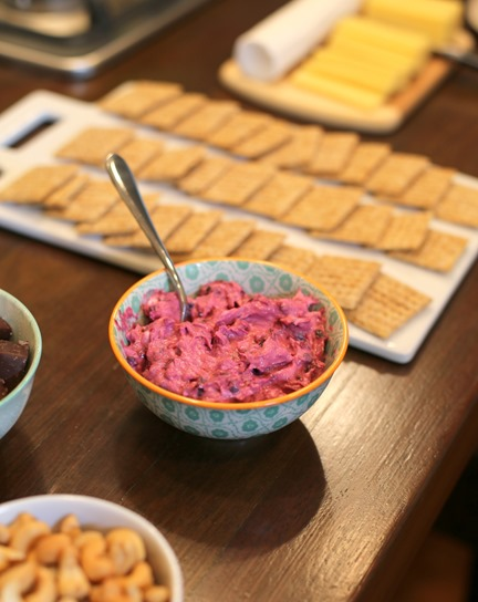 blackberry goat cheese